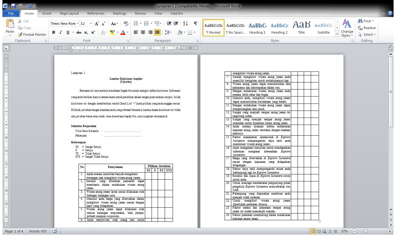 Contoh format makalah ataubiasa disebut dengan kerangka makalah