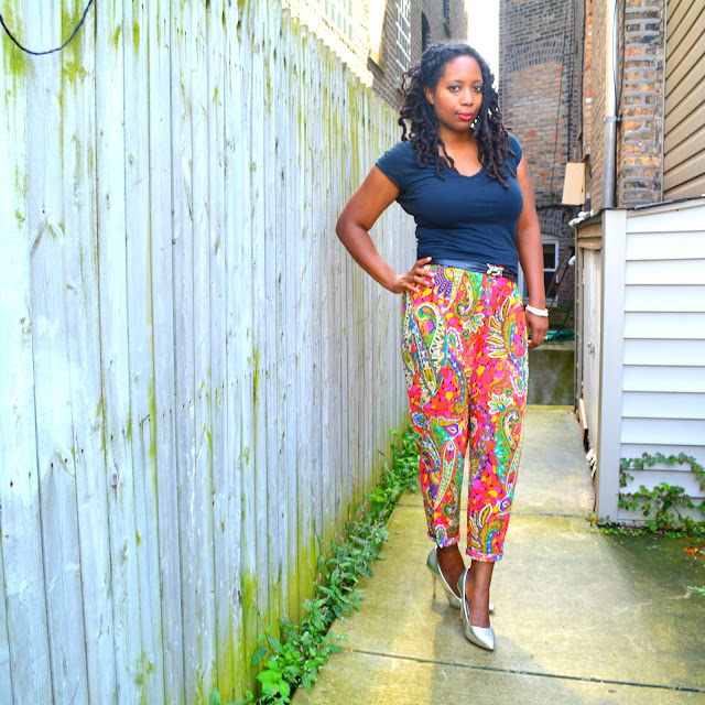 colorful pants style ideas