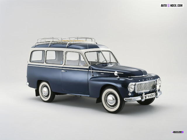 Classic Cars - Volvo Pv 445 Duett
