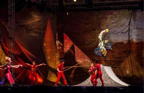 Scalada. Cirque du Soleil en Andorra
