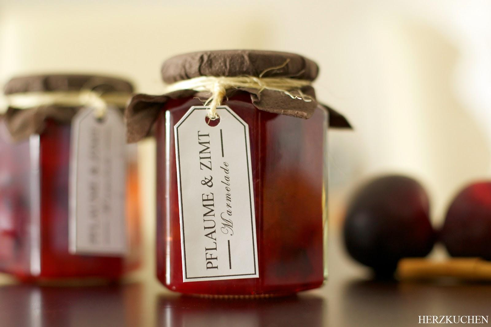 Pflaumen-Marmelade