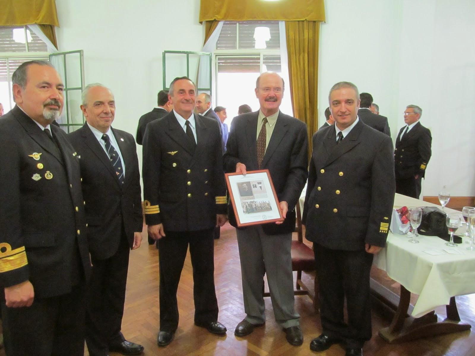 102° Aniv. Primer Brevet Militar Nacional otorgado al TF Melchor Escola (pionero de la Av. Naval)