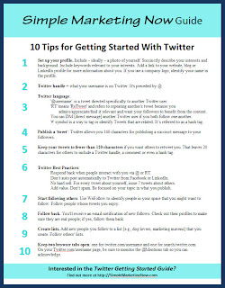 A Simple Twitter Primer: Tips and Guide