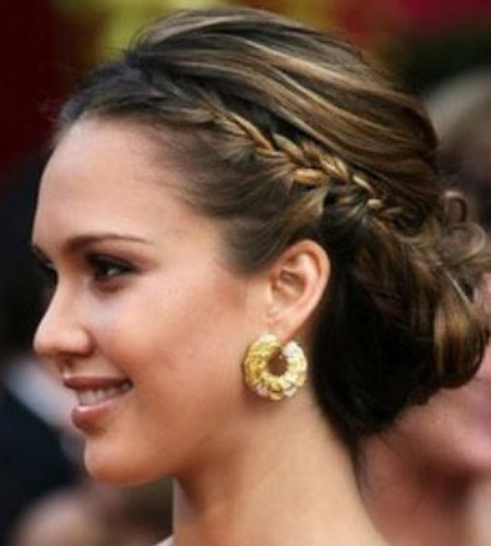 Simple Braided Hairstyles For Medium Natural Hair : Braided hair styles easy hairstyles for short