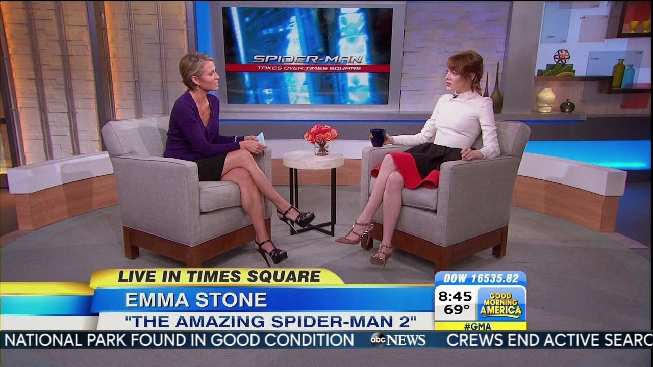 Amy Robach Calves