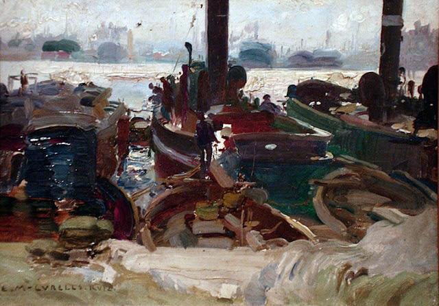 Enrique Martínez Cubells, Pintor español, Puerto