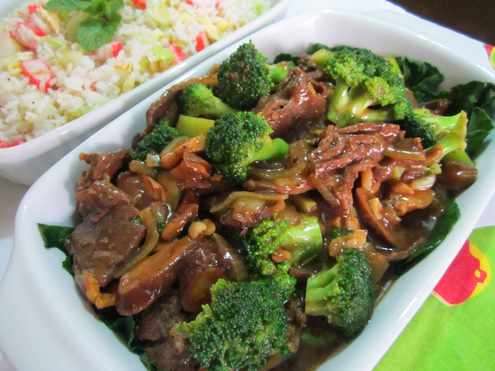 how to make beef broccoli with oyster sauce