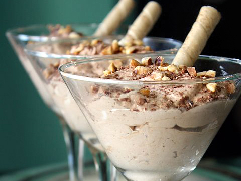 Chocolate Hazelnut Mousse. YES PLEASE!