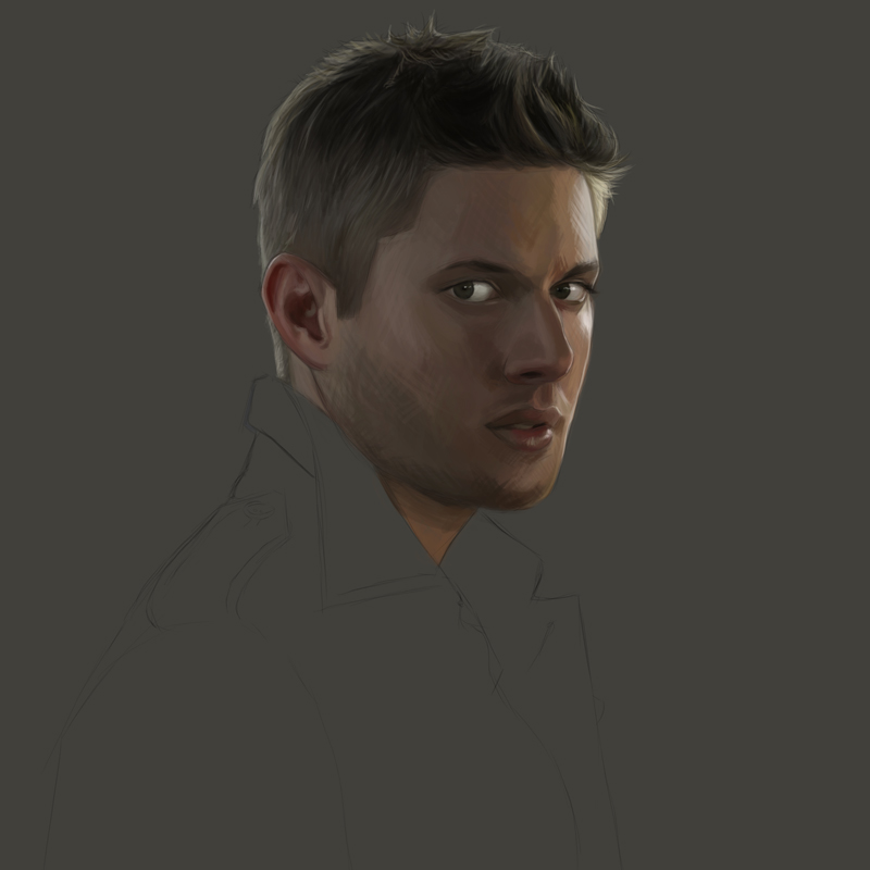 Jensen ackles painting maartje van hoorn howldb - Paneras carrefour ...