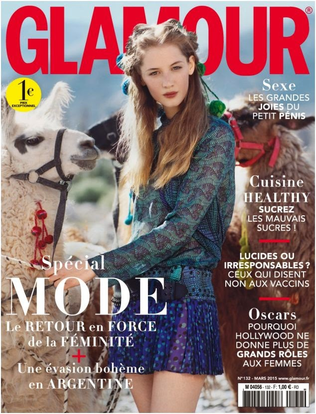 Model: Melina Gesto By Tom Craig for Glamour France