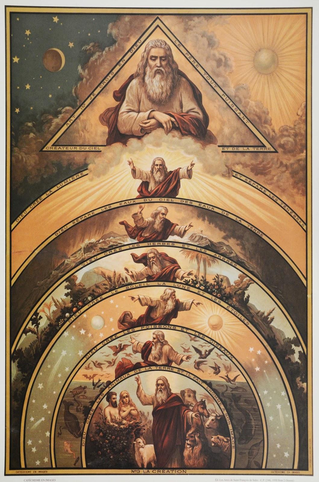 a criação gênesis 1 2 parte i os dias de criação