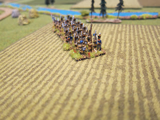 10mm Napoleonics Flocked Felt Fields By Hotz Mats