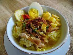 Resep Soto Ayam Gurih