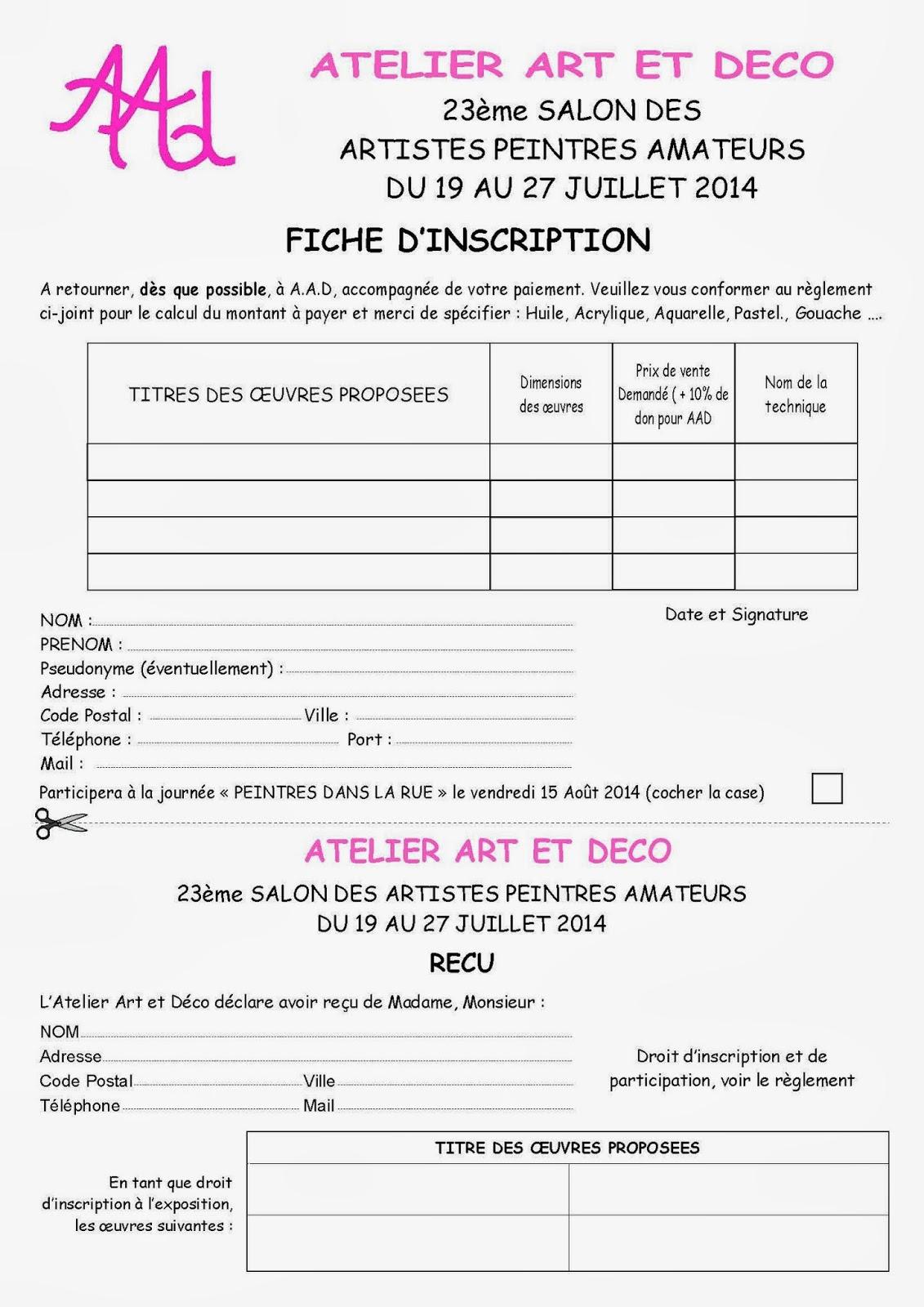 La ronde des artistes peintres salon des artistes for Art et decoration fevrier 2014