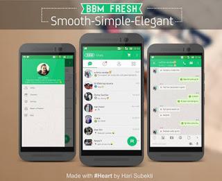 BBM Mod Fresh Themes Apk v2.9.0.51