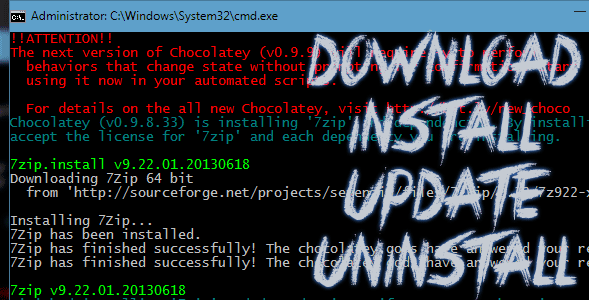 Cara Melakukan Download, Install, Update dan Uninstall Software Melalui Command Prompt