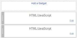 pilih add widget