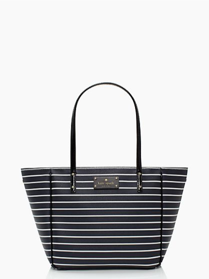 KS City Stripe  Navy Cream