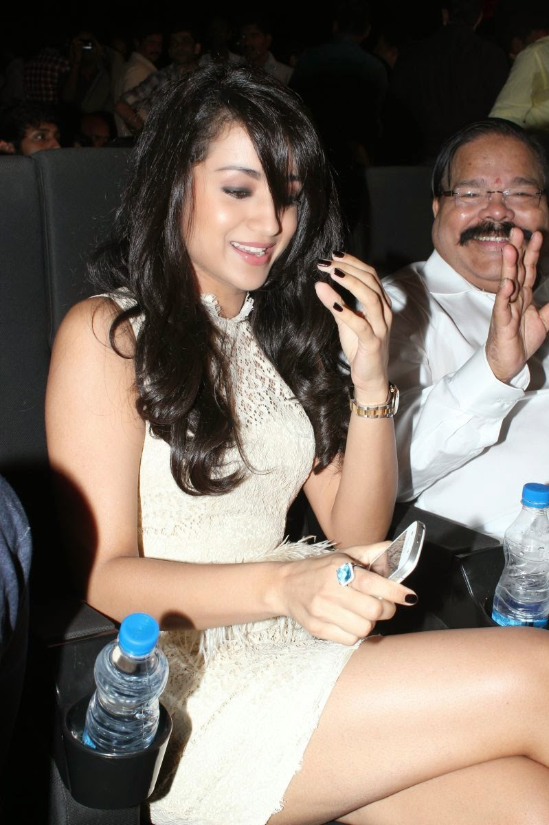 trisha hot spicy thigh hd wallpaper