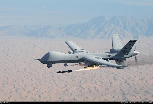 Drone MQ-9 Reaper Bunuh Algojo ISIS