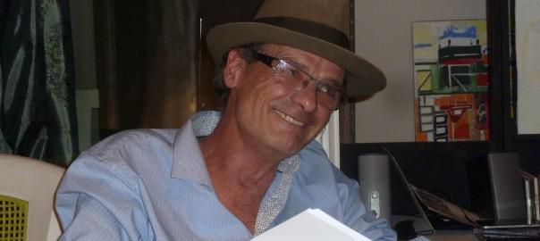 Photo du poète Philippe Lemoine