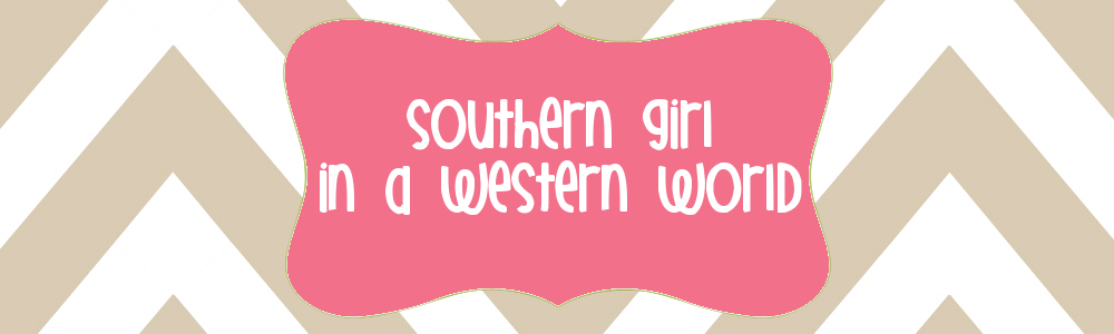 southern girl in a western world