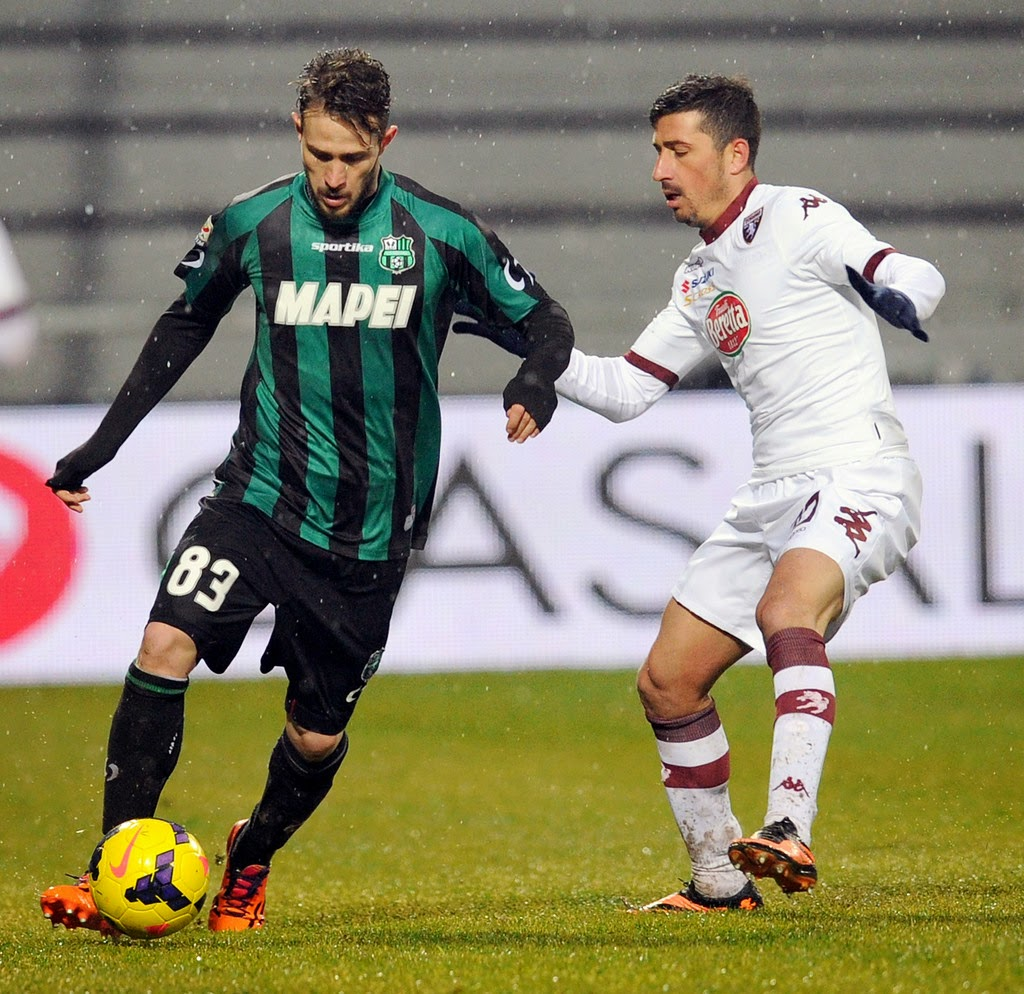 Kèo thơm cá cược Sassuolo vs Torino