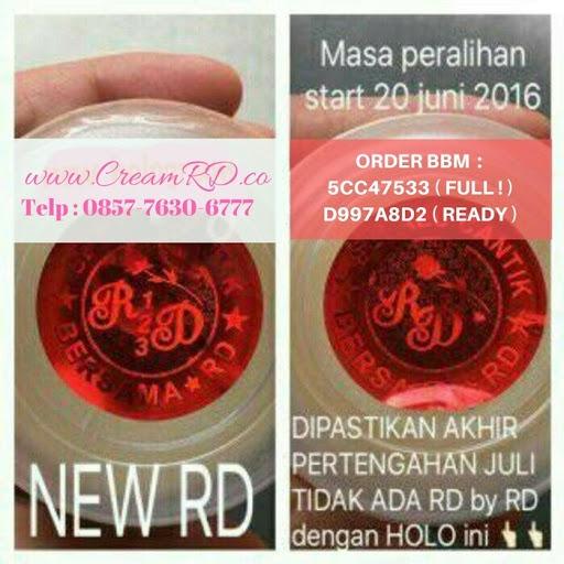 Cream RD Siang & Malam 30 Gram Original Hologram Merah