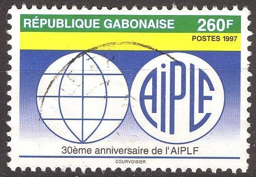 la france sur les timbres du monde french presence on stamps gabon r publique gabonaise 5 5. Black Bedroom Furniture Sets. Home Design Ideas