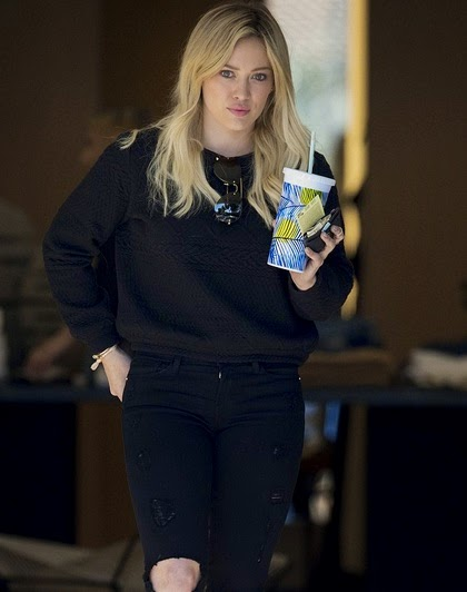 Hilary Duff February 2015