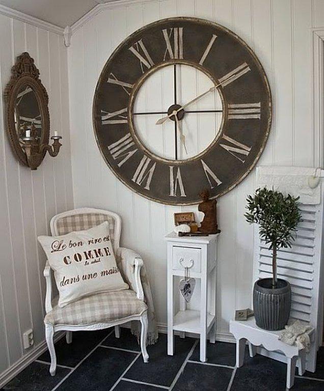 Inspiraciones deco de compras y - Relojes pared grandes ...