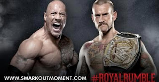 WWE Watch 2013 Royal Rumble Rock vs CM Punk Online Free Match WWE Title