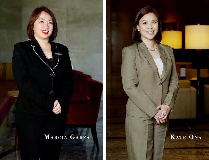 Marcia Garza, Kate Ona, marriott hotel manila
