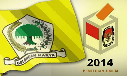 Partai Golkar Peserta Pemilu 2014