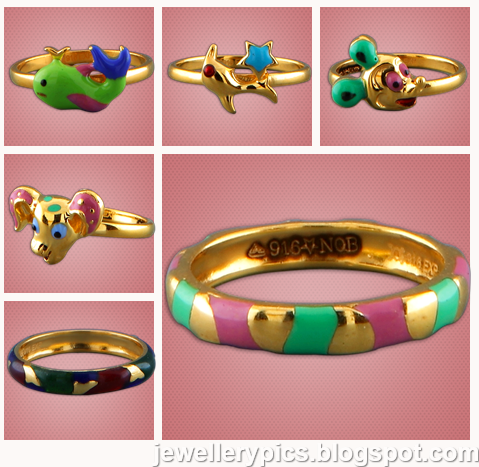 latest designs of gold rings for kids from malabar gold
