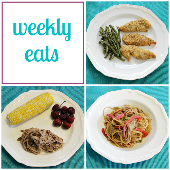 Weekly Eats - Colorful Menu | www.shealennon.com