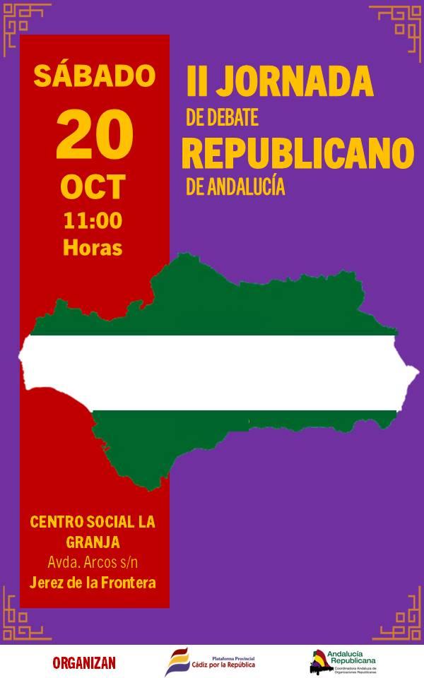 II Jornada de Debate Republicano de Andalucía