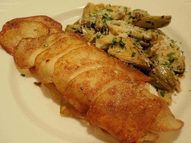 ... halibut potato crusted halibut inspired by epicurious com potato chive