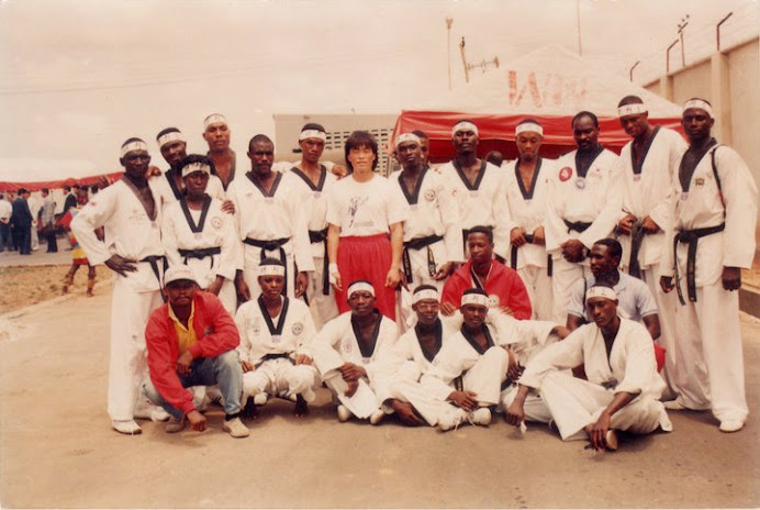 NIGERIA'S FIRST NATIONAL DEMONSTRATION TEAM