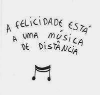 A felicidade ...