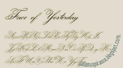 Font Untuk Desain Undangan