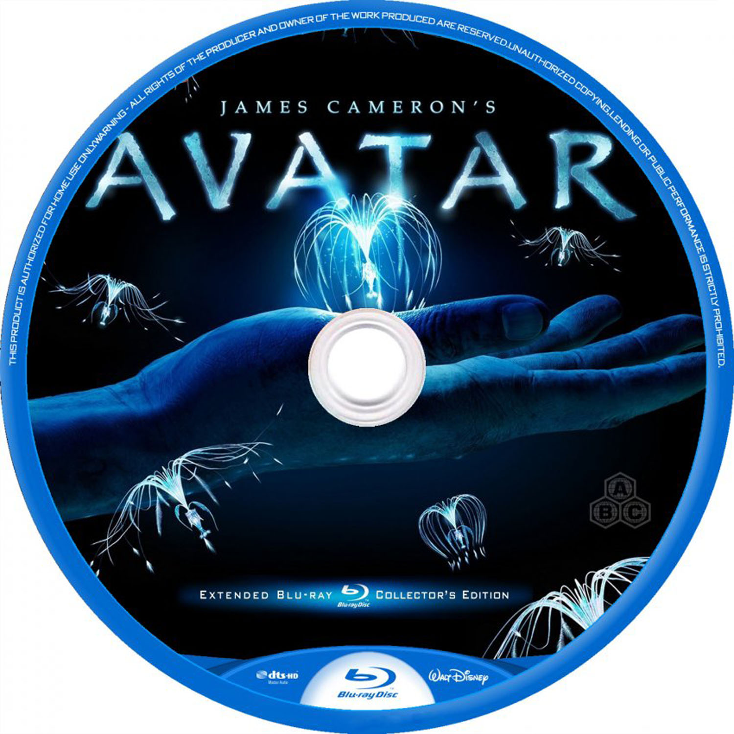 Avatar Movie Dvd Label Art