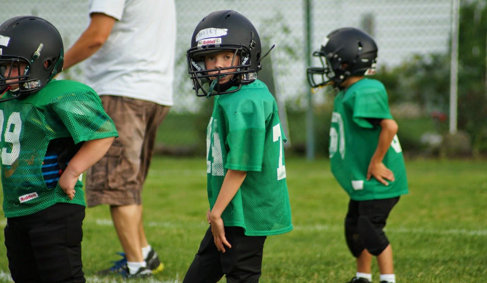 My little football guy