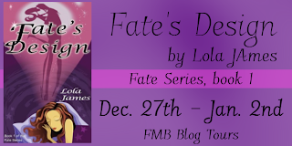 {Review+G!veaway} Fate's Design by Lola James