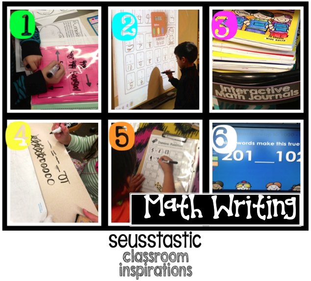 Math Daily 3-Math Writing