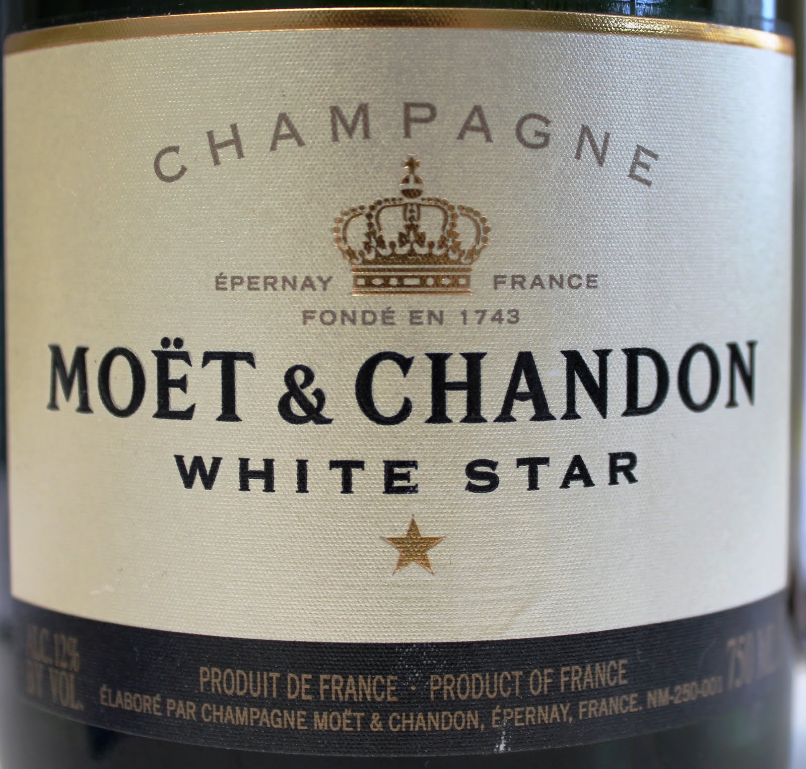 Colorado Wine Press: Ben's Bubbly: Moët et Chandon White Star