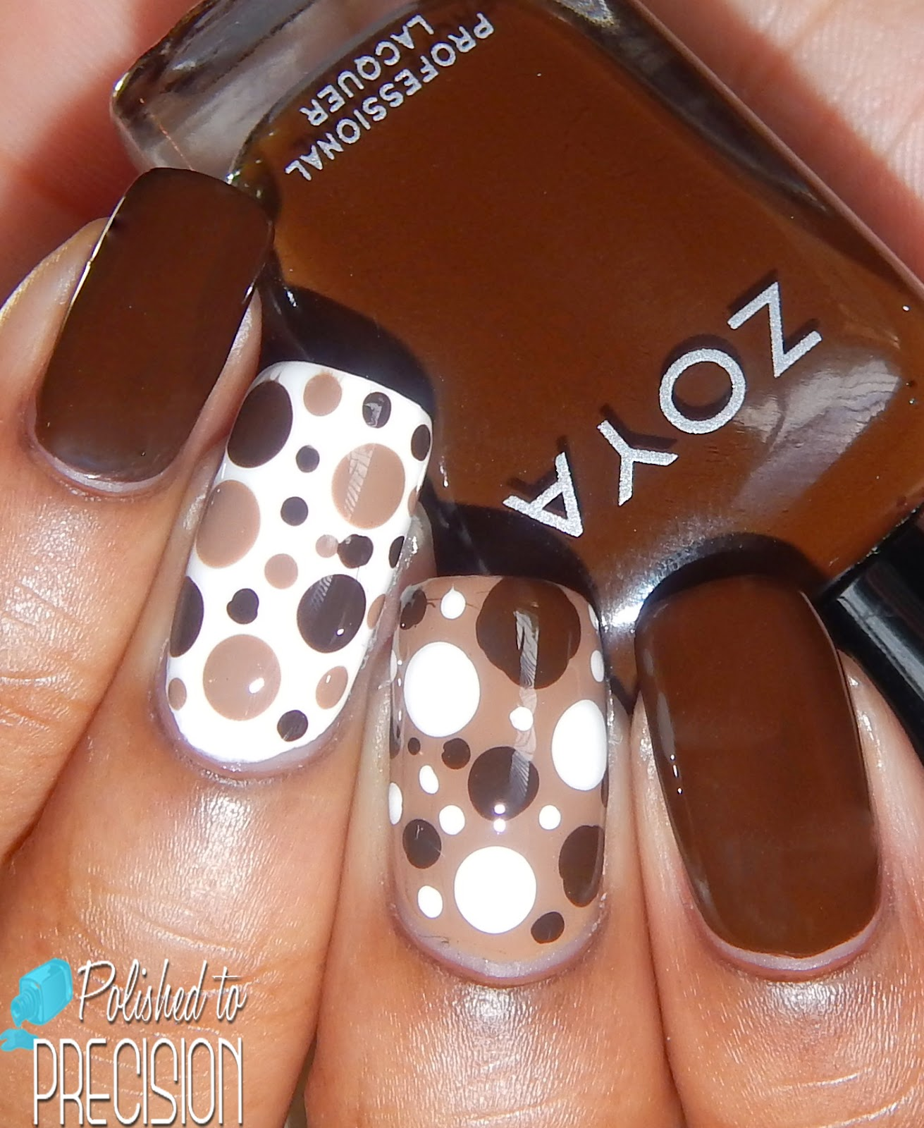 Zoya Flynn and Louise Nail Art