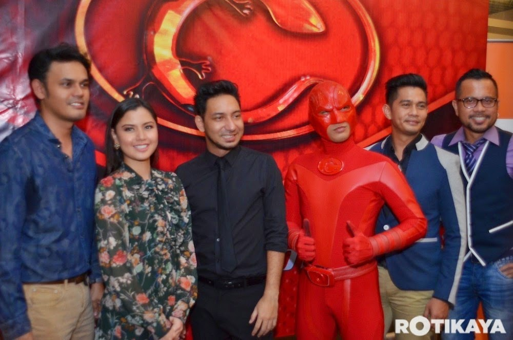 """Cicakman 3"" gabungan tiga produksi besar tanah air, info, terkini, hiburan, sensasi, Cicak Man 3, filem terbaru"