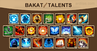 Bakat (Talent) - Castle Clash : Era Legenda (Konflik Kastil)