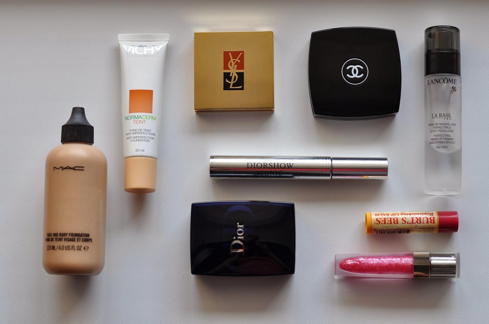 Базовый набор средств для макияжа